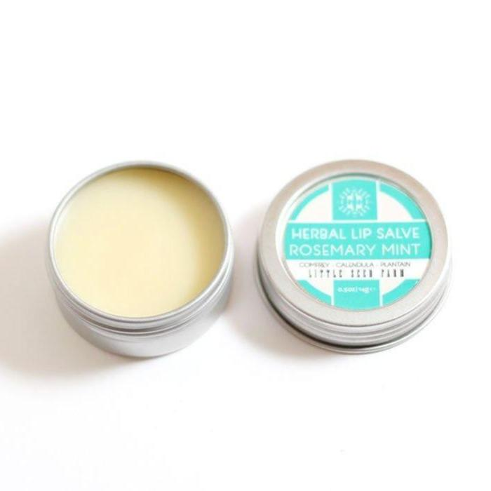 Herbal Lip Salve - Rosemary Mint - Little Seed Farm -Freehand Market