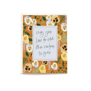 May Love Grow Greeting Card - Pen + Pillar -Freehand Market