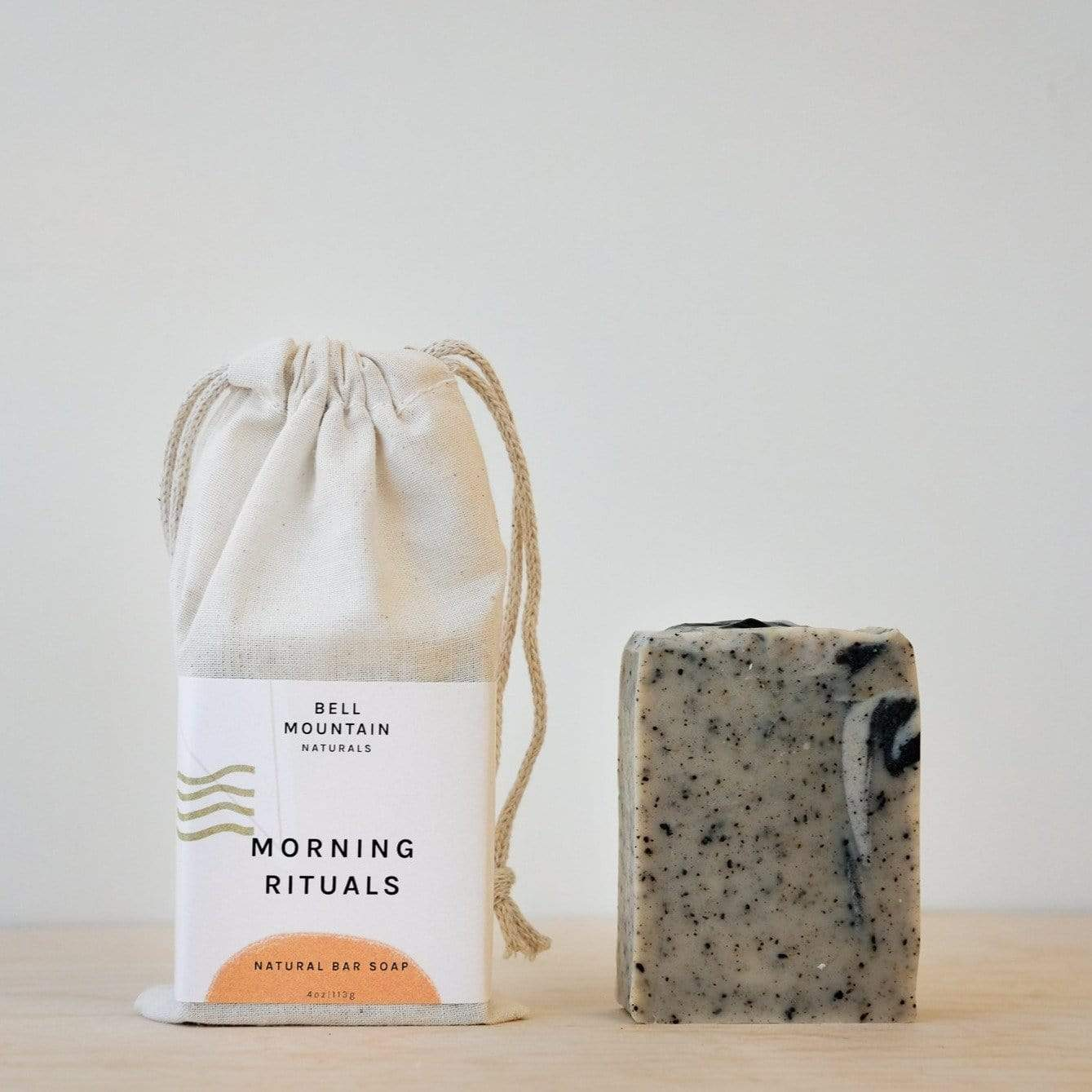 Morning Rituals Bar Soap - Coffee, Chocolate, & Grapefruit - Bell Mountain Naturals -Freehand Market