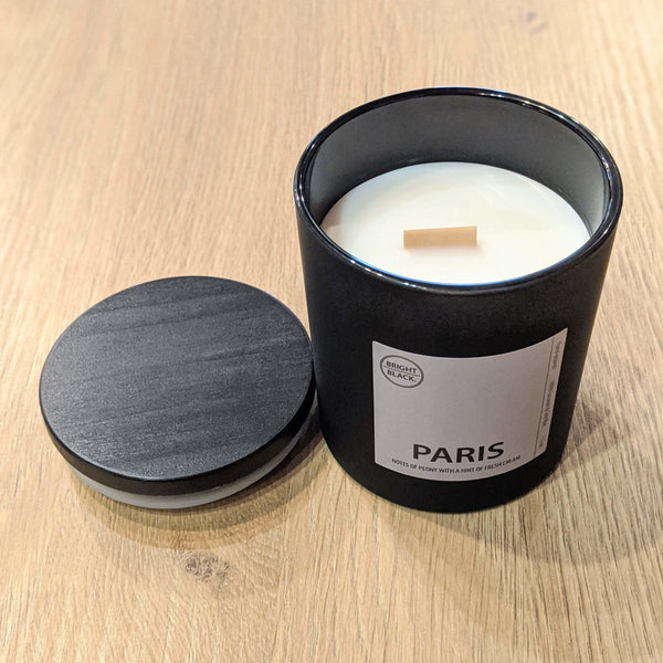 Paris Candle - Bright Black Candles -Freehand Market