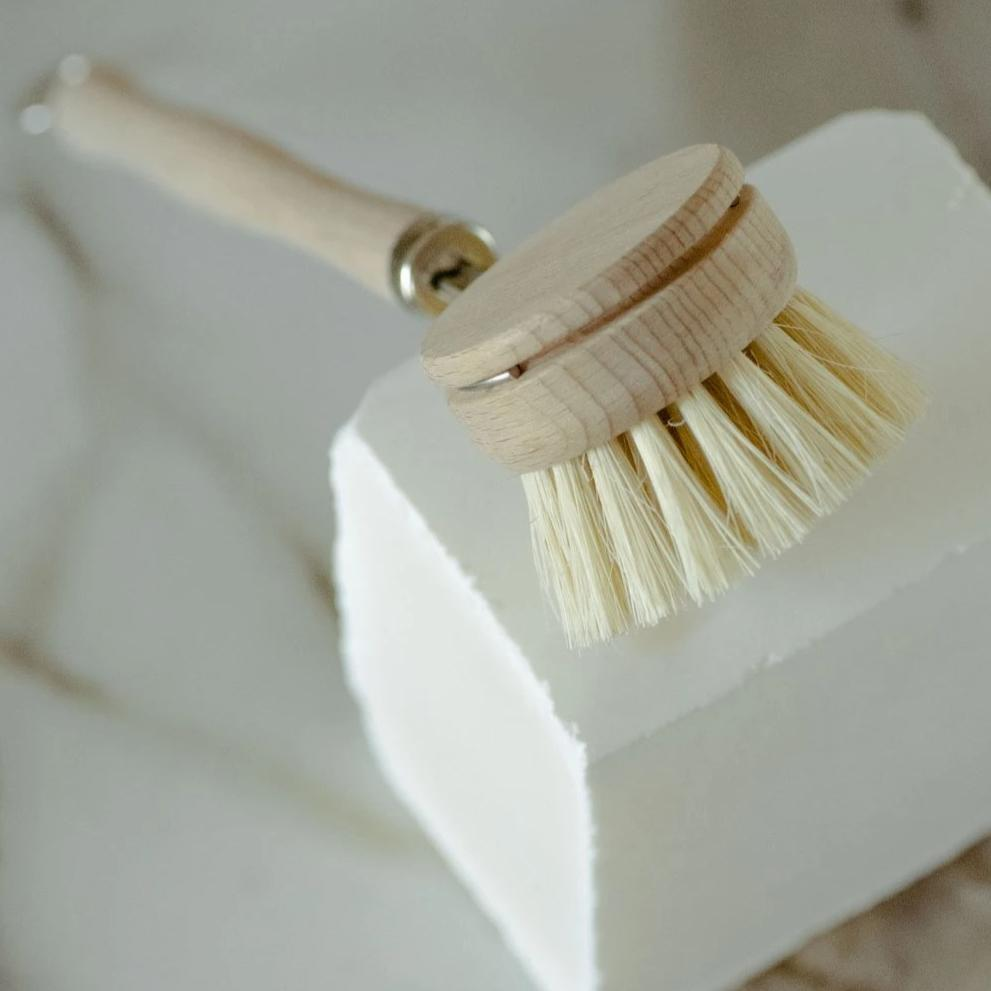 Plastic Free Dish Brush with Replaceable Head - No Tox Life -Freehand Market