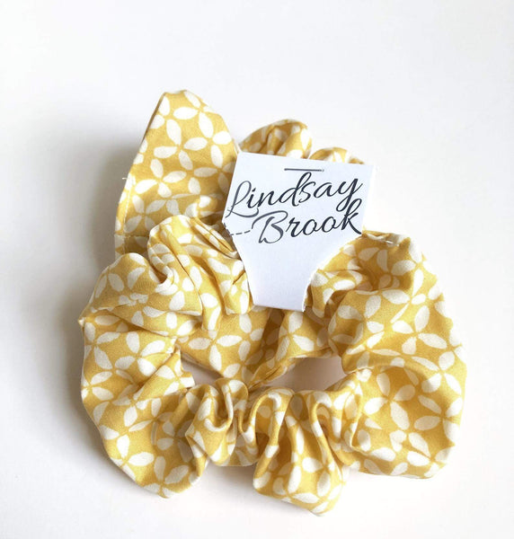 Pop Yellow Scrunchie - Lindsay Brook Designs -Freehand Market