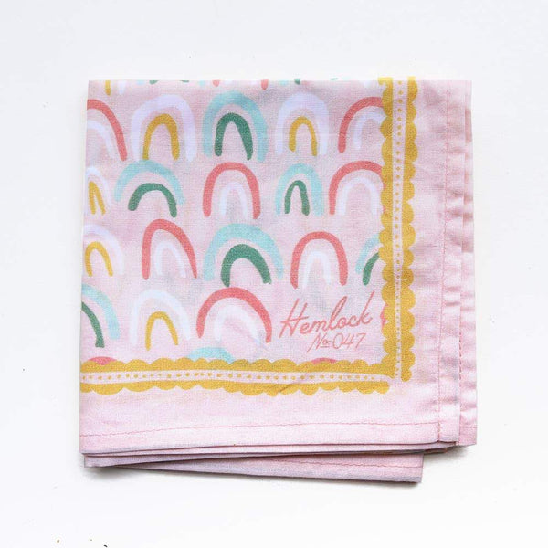 Rainbows Bandana - Hemlock Goods -Freehand Market