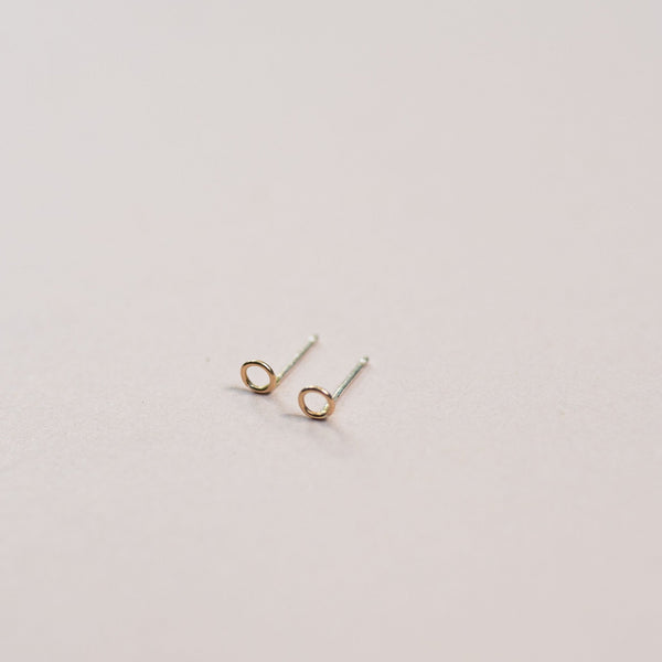 Resilient Gold Studs - Wind Blown Jewelry -Freehand Market