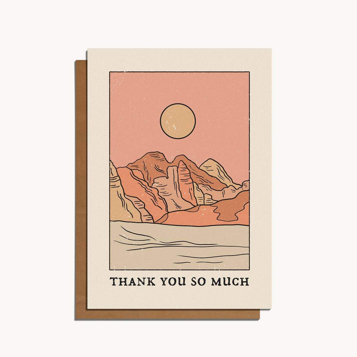 Thank You So Much Card - Cai & Jo -Freehand Market