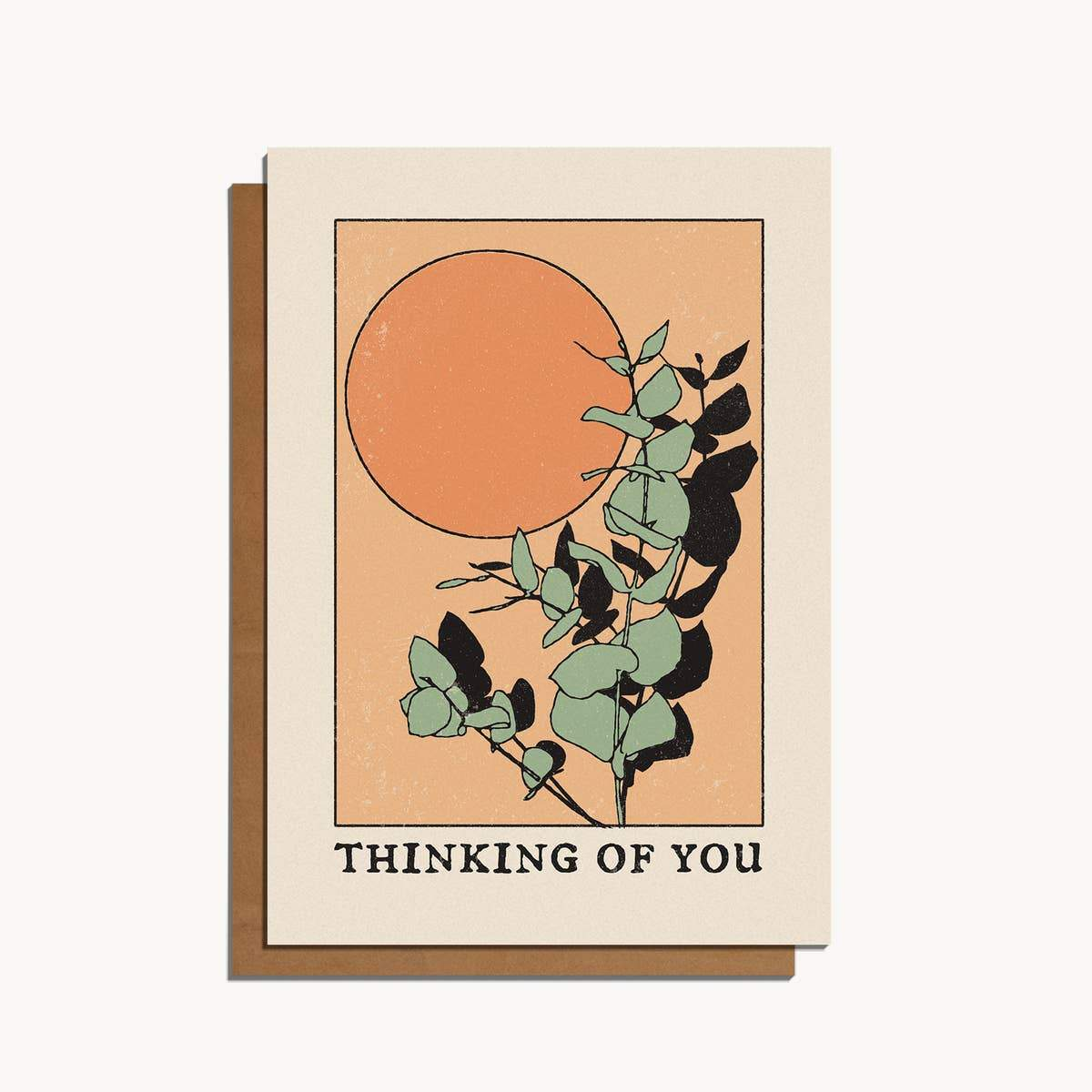 Thinking of You Card - Cai & Jo -Freehand Market