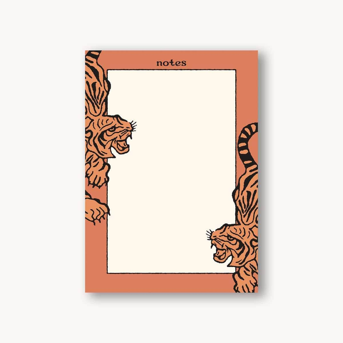 Tiger Notes Pad