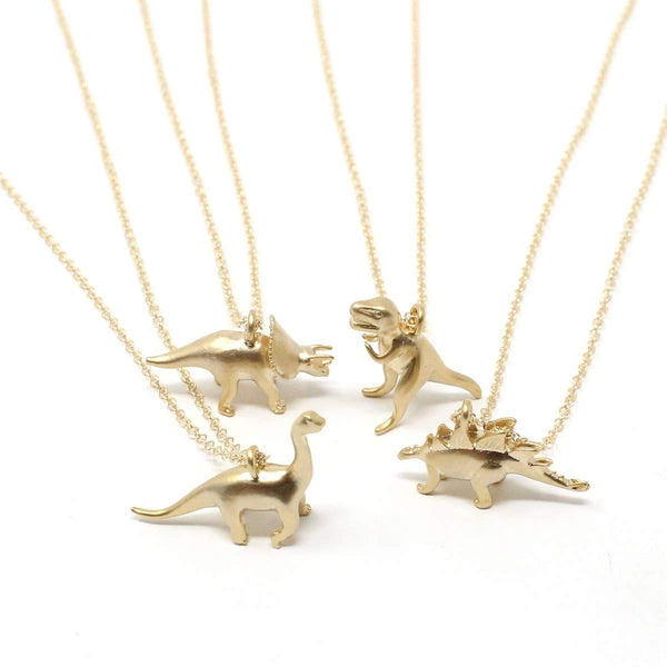 Tiny Dino Necklace - Crafts & Love -Freehand Market