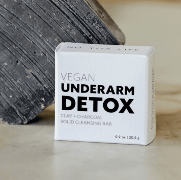 Underarm Detox Charcoal Mini Soap Bar - No Tox Life -Freehand Market