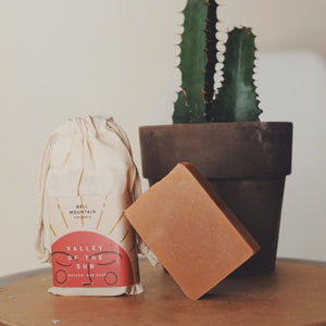 Valley of the Sun Bar Soap - Tangerine & Juniper - Bell Mountain Naturals -Freehand Market