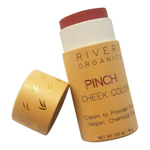 "Vegan Cheek Color in ""Pinch"" - River Organics -Freehand Market"