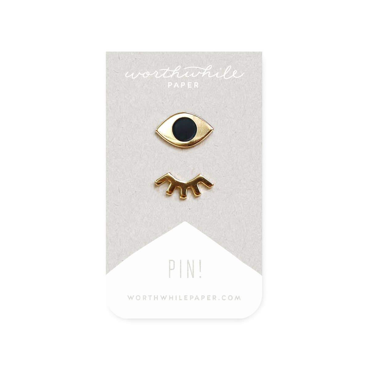 Winks Enamel Pin Set - Worthwhile Paper -Freehand Market