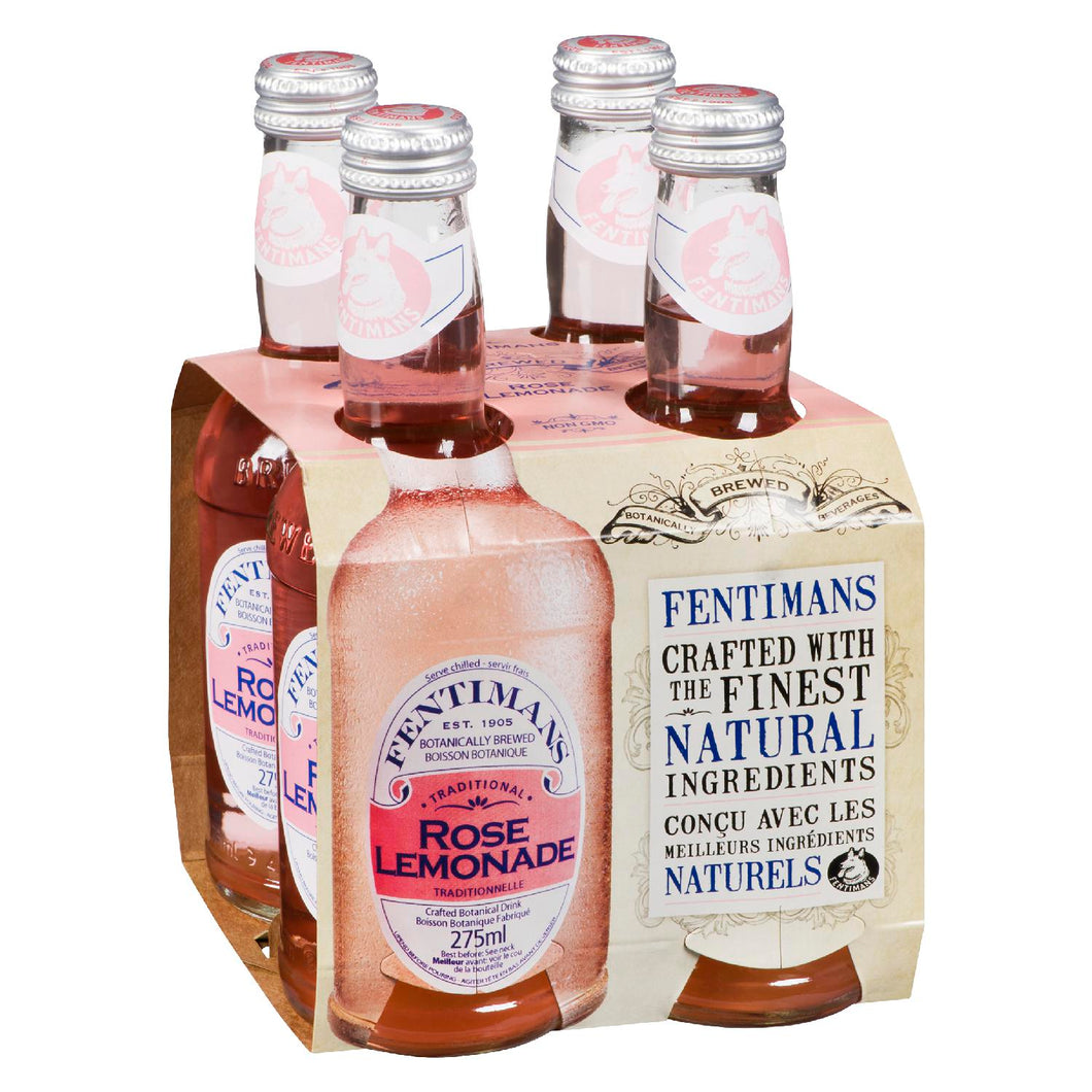 FENTIMANS (4), ROSE WATER LEMONADE