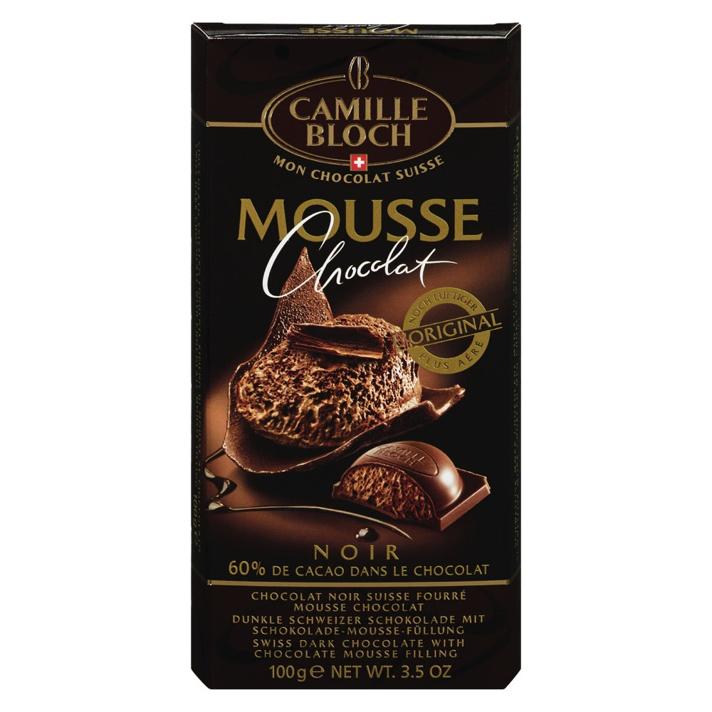 CAMILLE BLOCH, CHOCOLATE MOUSSE, DARK CHOCOLATE