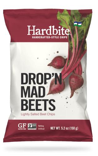 HARDBITE, LIGHTLY SALTED BEET CHIPS