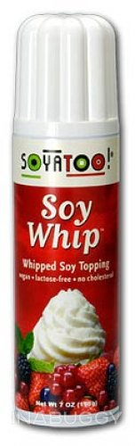 WHIPPED CREAM, SOY WHIP, SOYATOO