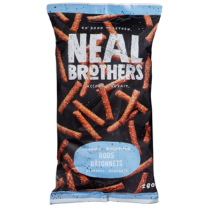 NEAL BROTHERS, PRETZEL RODS, CHIPS