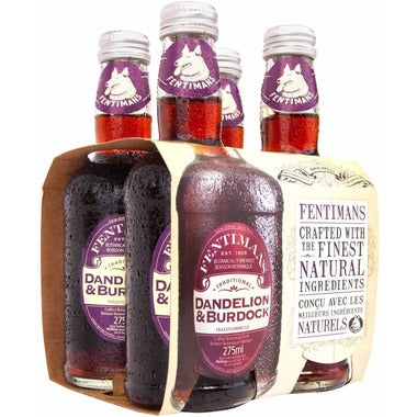 FENTIMANS (4), DANDELION AND BURDOCK