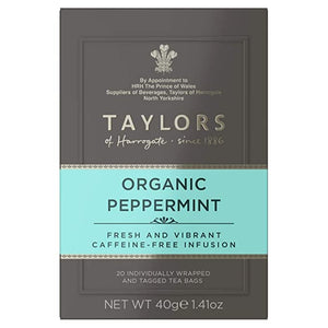 TAYLORS TEA, PEPPERMINT TEA