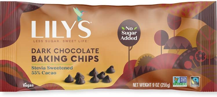 LILY'S SWEET, DARK CHOCOLATE CHIPS
