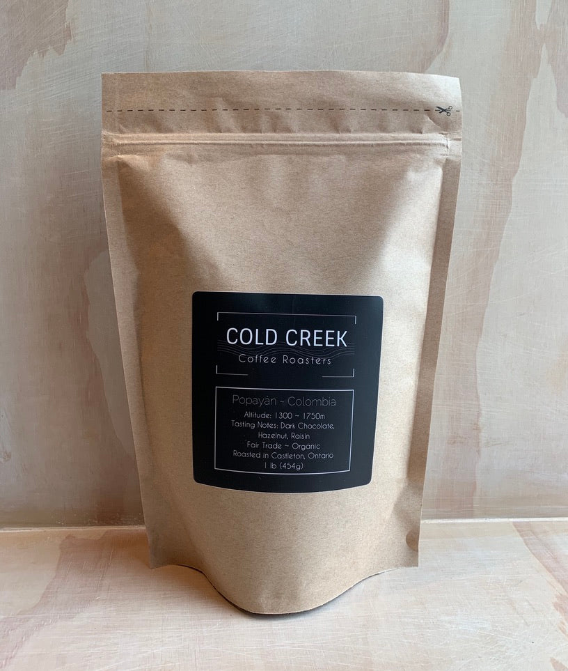 COLD CREEK COFFEE ROASTERS, LOCAL