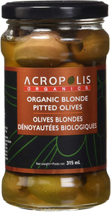 BLONDE PITTED OLIVES, ACROPOLIS