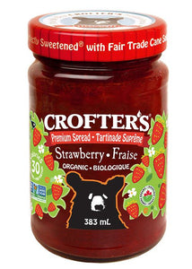 CROFTER'S, STRAWBERRY JAM, ORGANIC