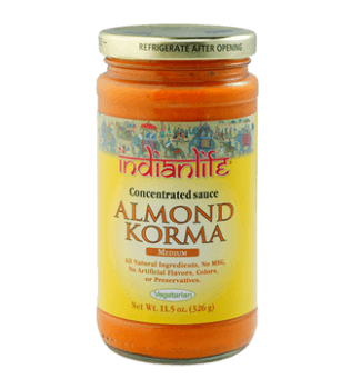 INDIAN LIFE, ALMOND KORMA SAUCE