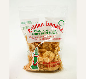 GOLDEN BANANA, PLANTAIN CHIPS