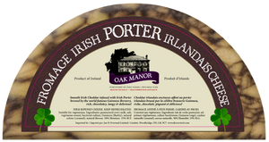 OAK MANOR, IRISH PORTER CHEESE, 150g