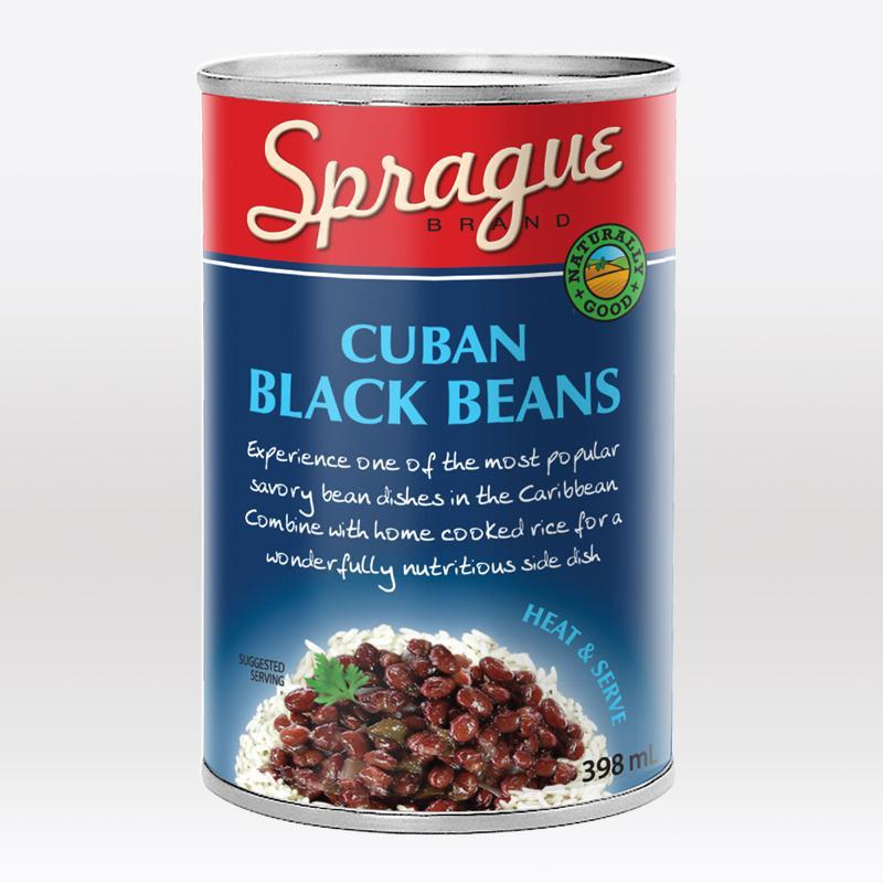 SPRAGUE FOOD, CUBAN BLACK BEANS