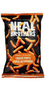 NEAL BROTHERS, ORGANIC CHEESE PUFFS