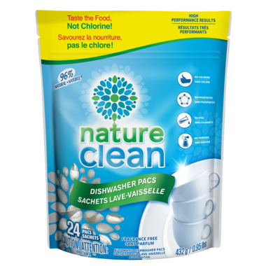 DISHWASHER DETERGENT, NATURE CLEAN