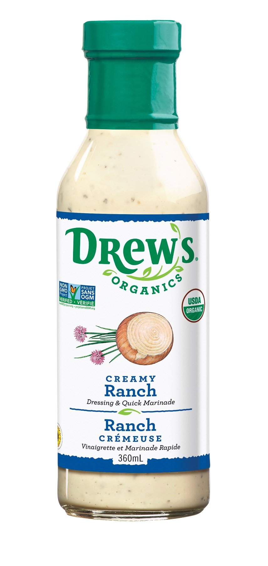 DREW'S, CREAMY RANCH