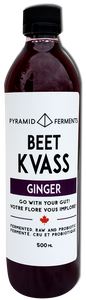 PYRAMID FERMENTS, BEET GINGER, KVASS