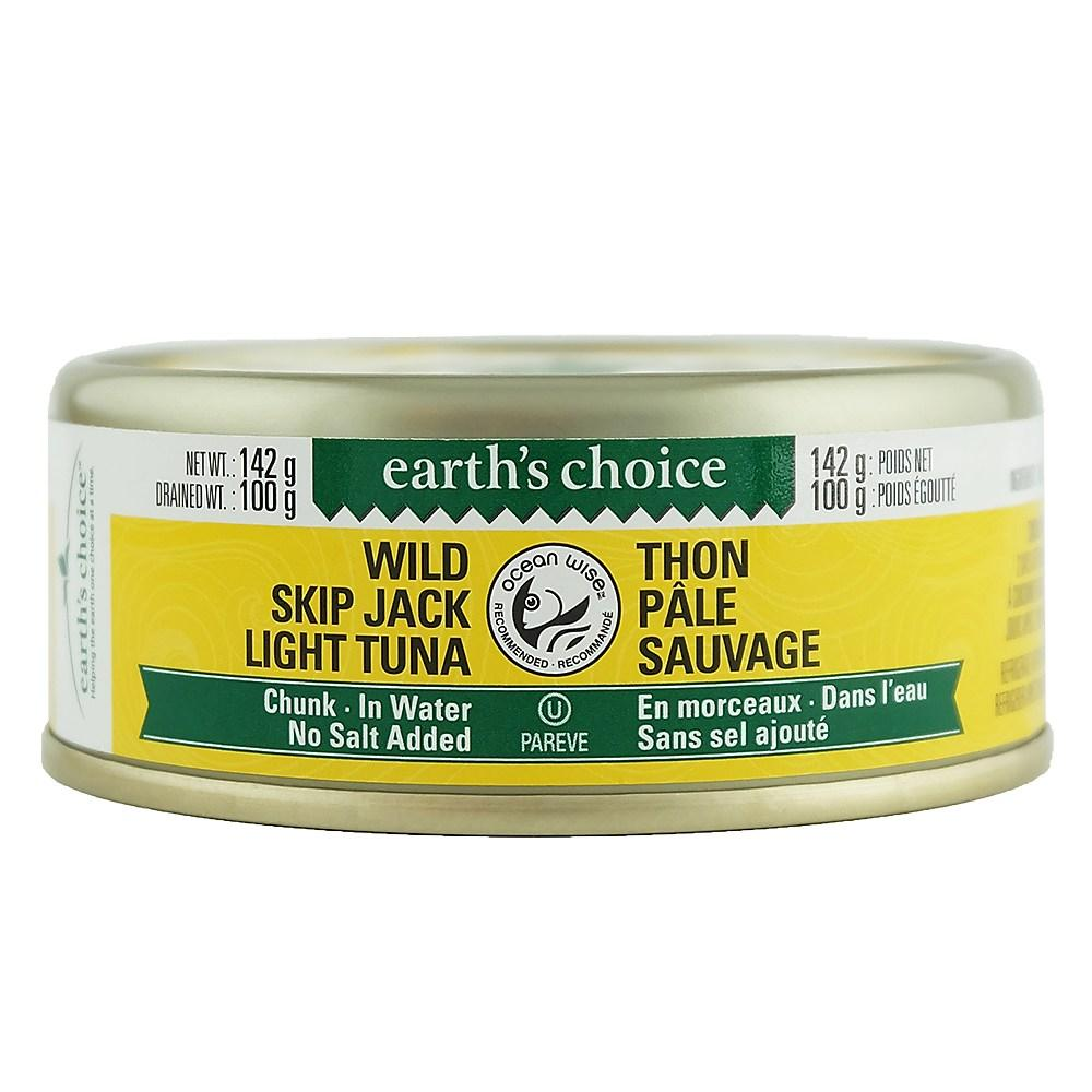 EARTH CHOICE, SKIPJACK, TUNA