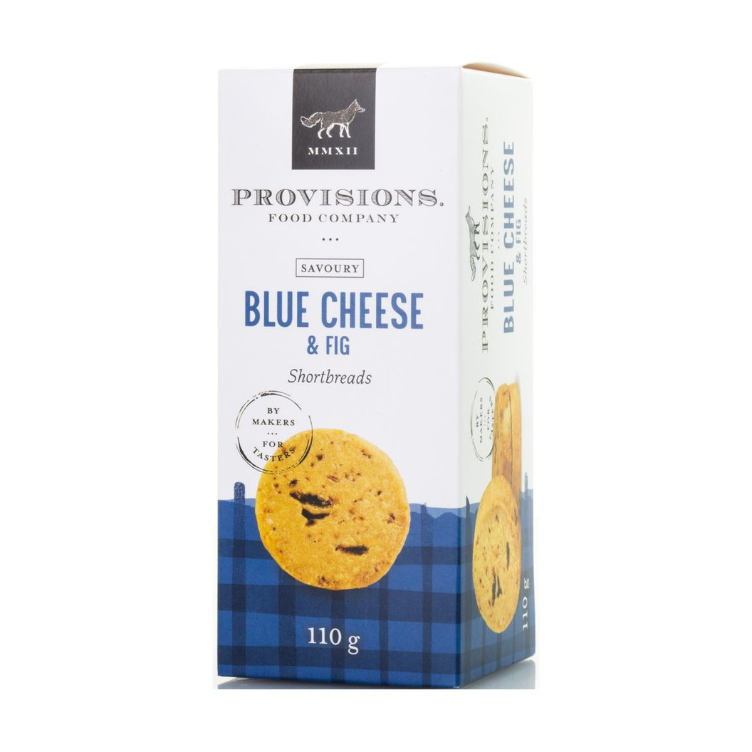 PROVISIONS, BLUE CHEESE & FIG SHORTBREAD