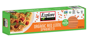 SPAGHETTI, EXPLORE, RED LENTIL