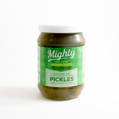 NY PICKLES, MIGHTY FINE BRINE