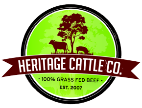 HERITAGE CATTLE CO, GRASS FED BASEBALL STEAK