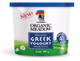 GREEK YOGURT, ORGANIC MEADOWS
