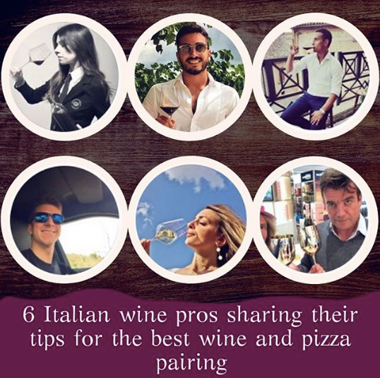 Wine and pizza pairing: advices from Italian wine professionals