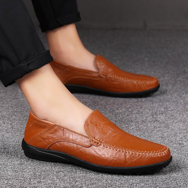 Leather Soft Slip-On (10 colors)