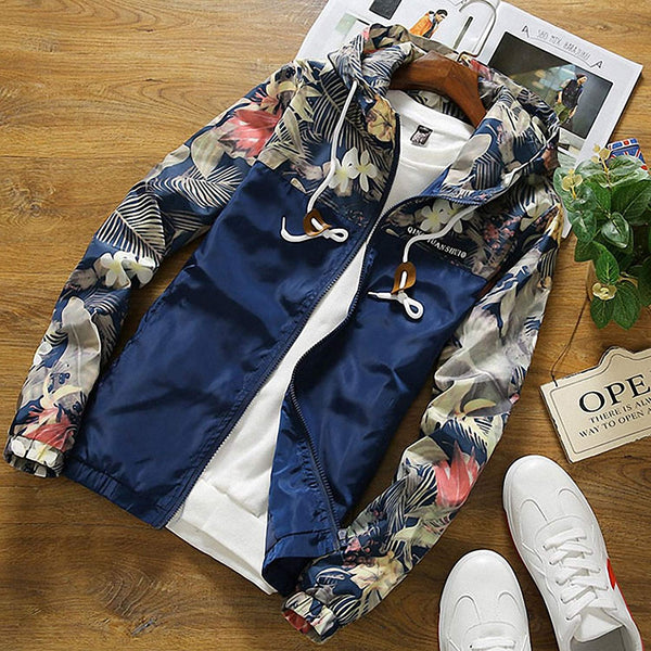 Floral Hooded Jacket (5 colors)