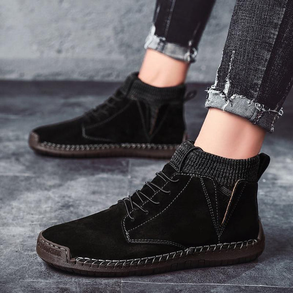 Casual Suede Boots (4 colors)