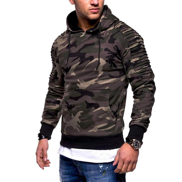 Camouflage Casual Hoodie (6 colors)