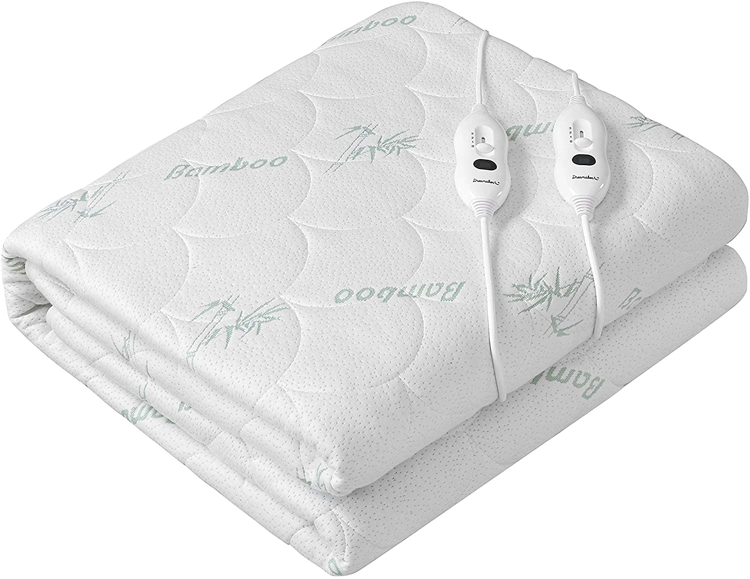 Bamboo Covered Top Electric Blanket