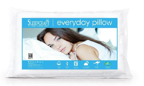 Everyday Cotton Covered Pillow