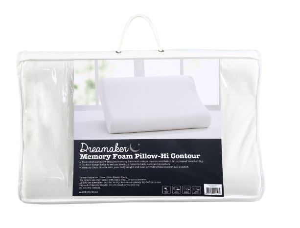 Memory Foam Pillow High Contour