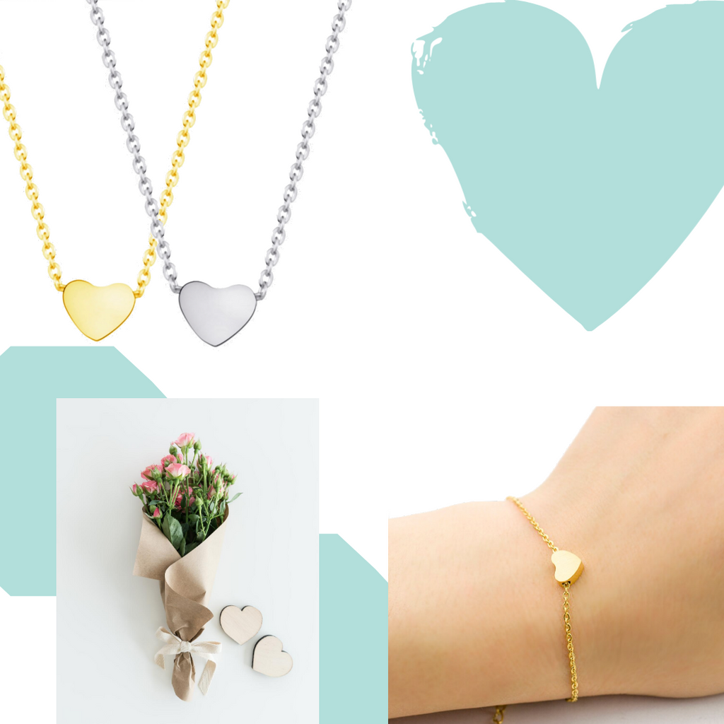 Minimalist & Simple Heart Bracelet